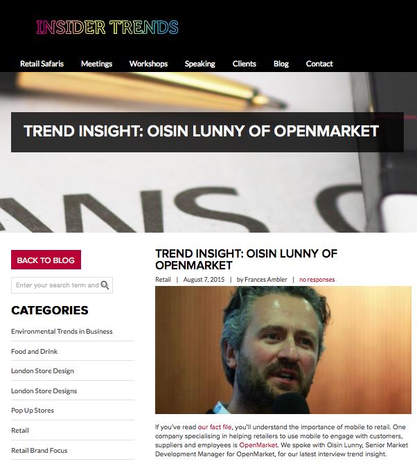 Insider trends