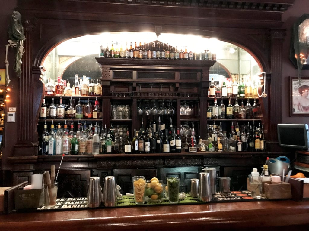 The Bar at The Columns hotel, New Orleans