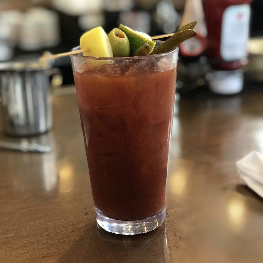 Bloody Mary at the Ruby Slipper Café