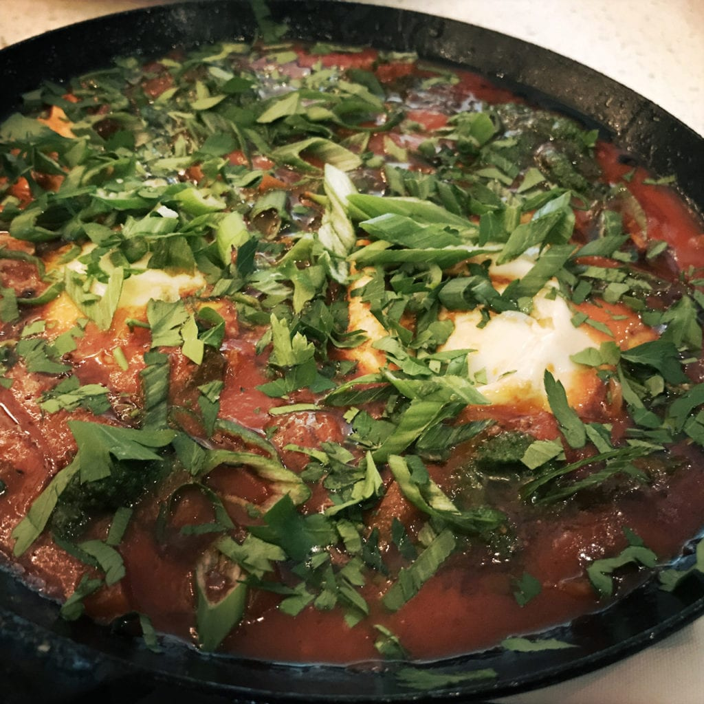 Shakshouka at Shaya, New Orleans