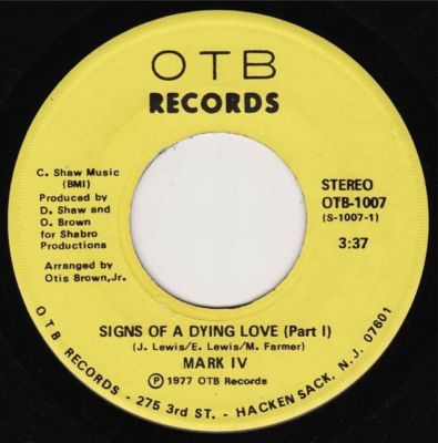 Mark IV – Signs Of A Dying Love