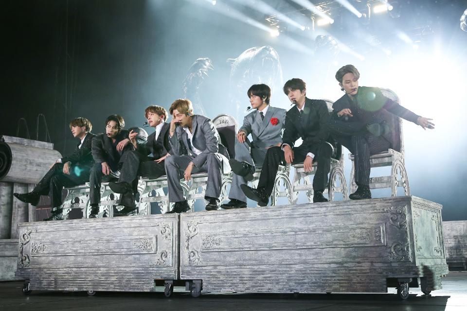 K-Pop Stars BTS Win MTV EMA Best Live, Group And Fan Awards