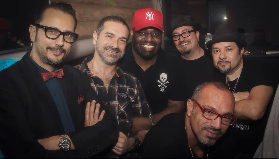 L-R Dimitri From Paris, DJ Meme, Frankie Knuckles, Eric Kupper, David Morales & Louie Vega at Cielo
