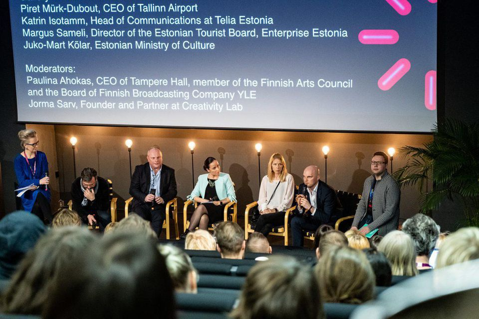 Focus Panel: The Impact of Arts on Economy at TMW conference (PHOTO: ARON URB, TALLINN MUSIC WEEK)