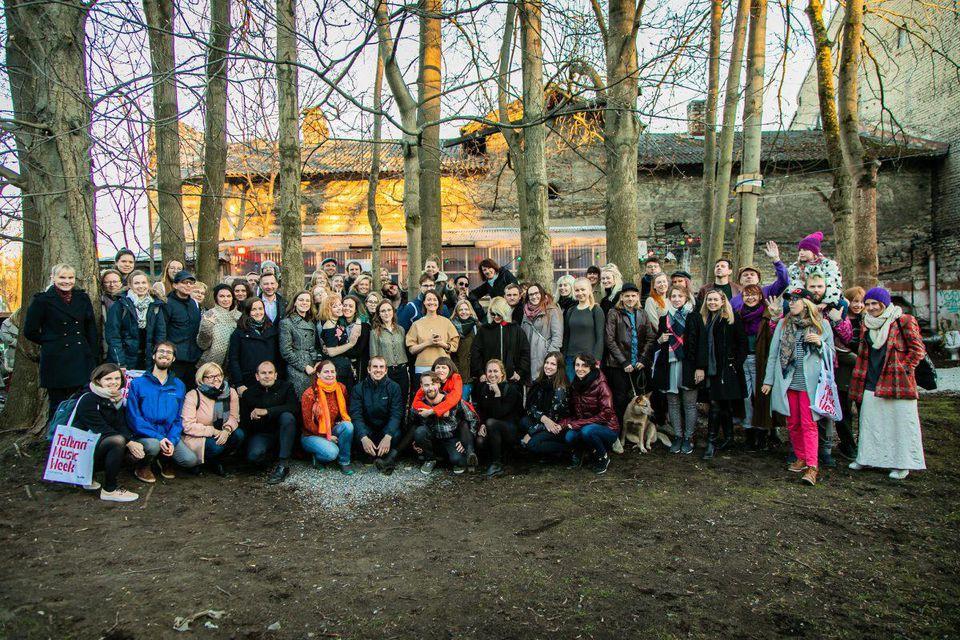 Helen Sildna, Founder & Director of Tallinn Music Week, and team