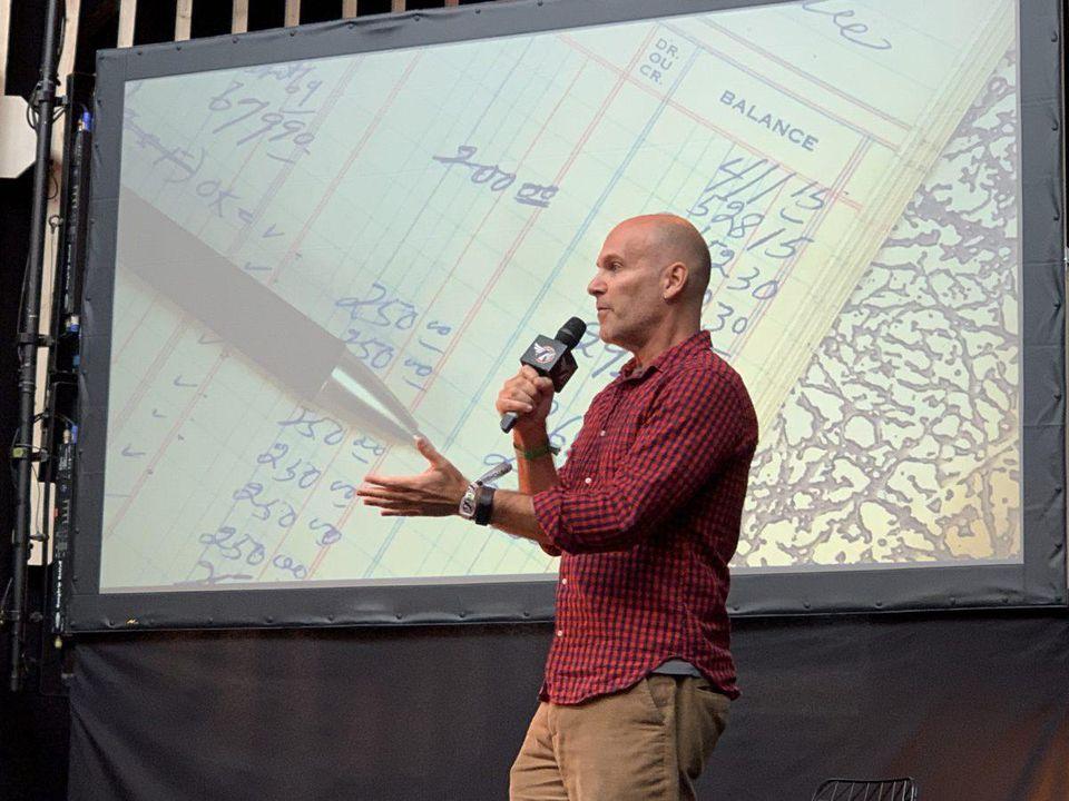 Scott Cohen at Eurosonic Nooderslag (ESNS)