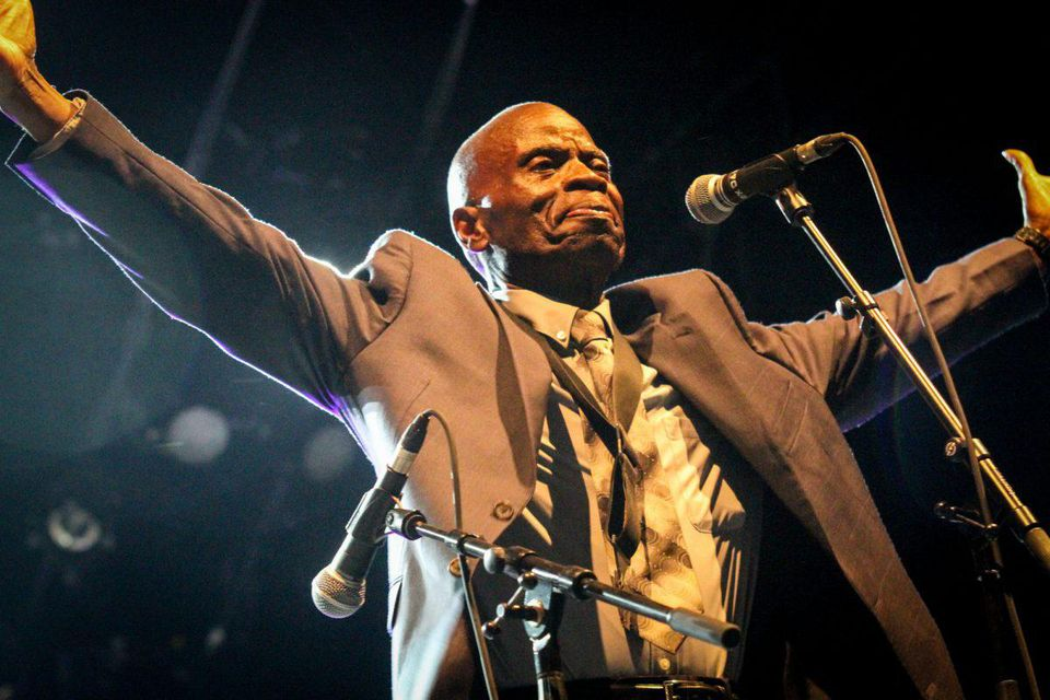 Maceo Parker on stage