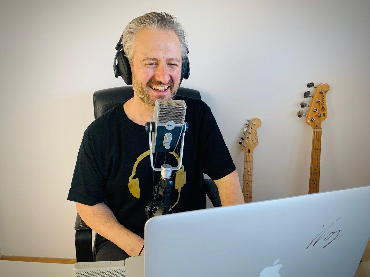 Oisin Lunny - Podcast Host