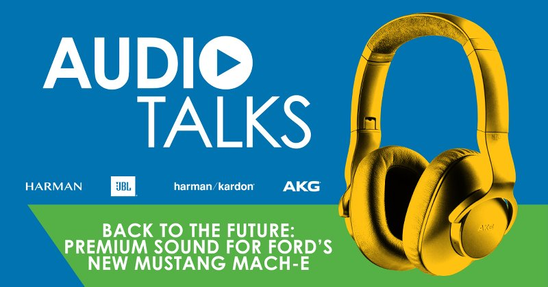 Back to the Future: Premium Sound for the new Ford Mustang Mach-E