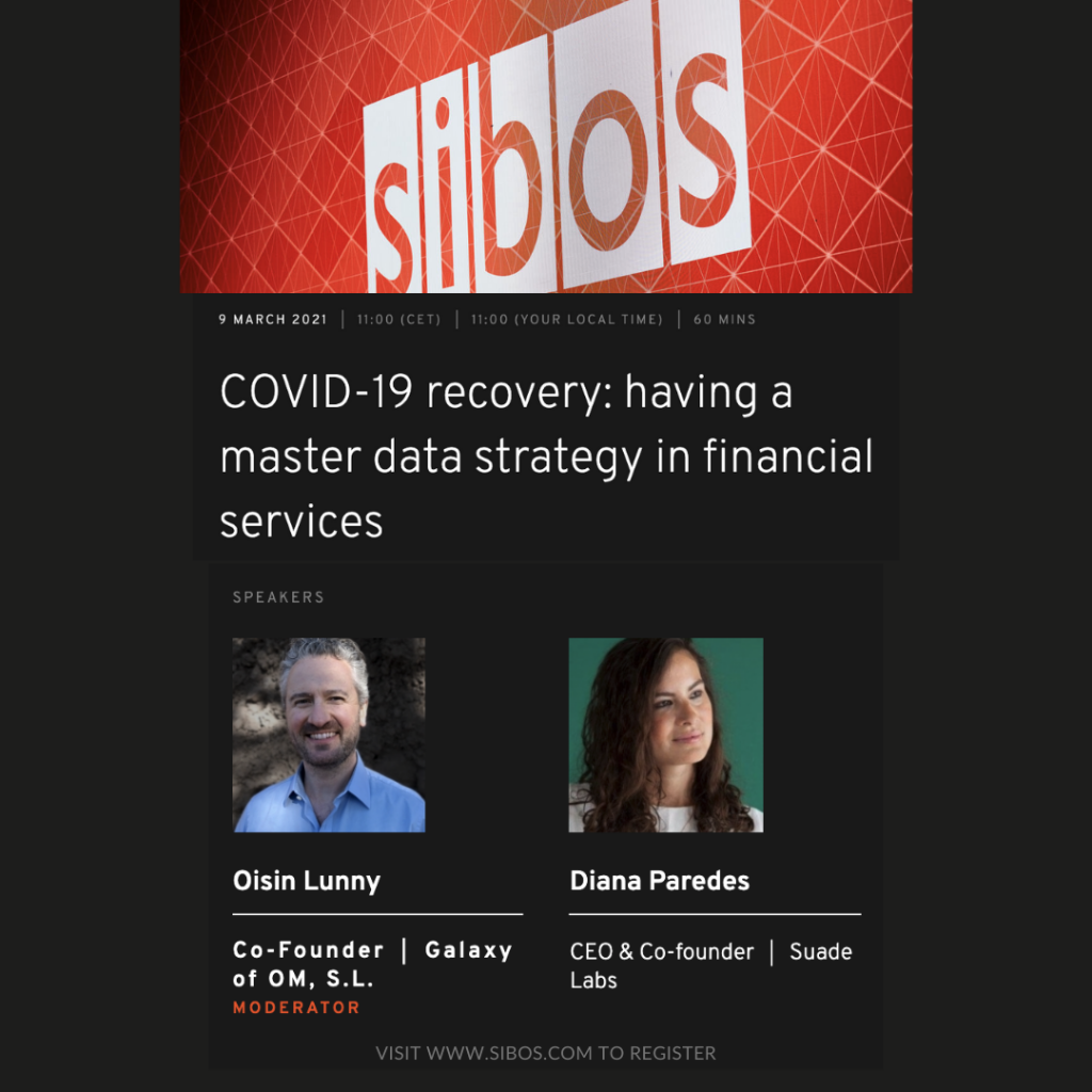 Oisin Lunny and Diana Paredes at Sibos